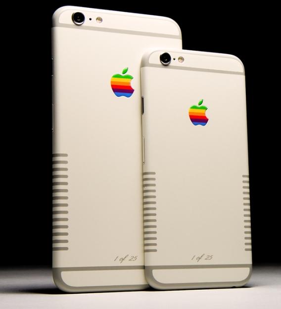 Digital-ретро: iPhone 6 и 6s стилизованы под старый компьютер