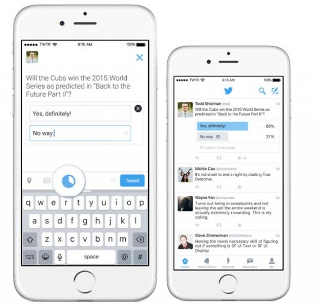 Да или нет: Twitter объявил о запуске опросов