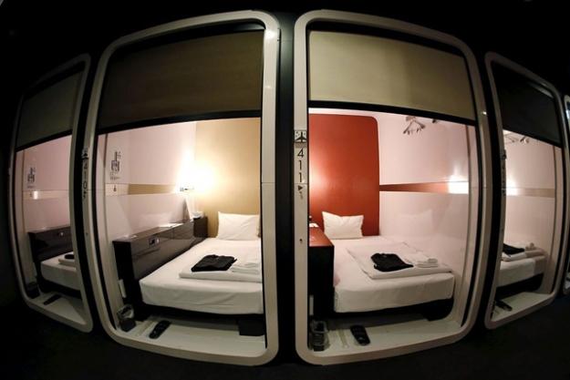 В Японии появятся капсульные отели класса люкс