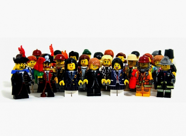 Мода в стиле LEGO
