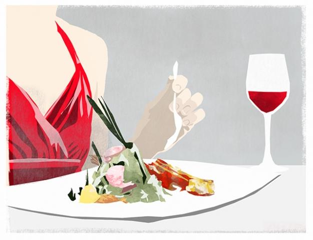 Быть леди за столом: какое меню подойдет девушкам на первом свидании