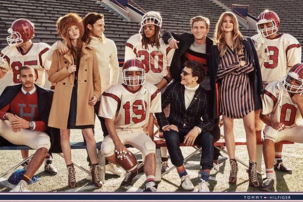 Рекламная кампания Tommy Hilfiger к 30-летию бренда