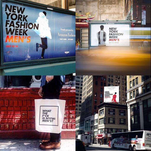 У New York Fashion Week новый логотип