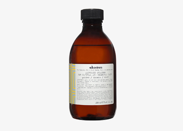 Alchemic Shampoo For Natural And Coloured Hair Golden от Davines, 1540 руб.