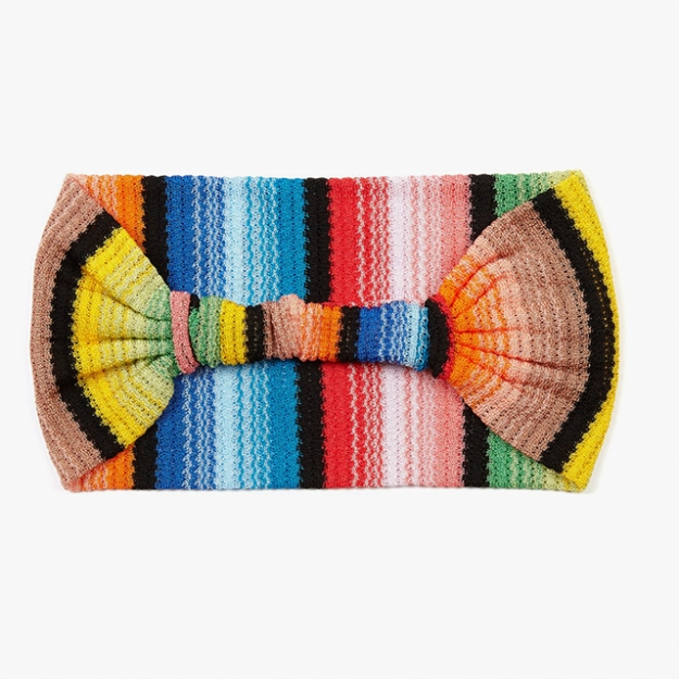 "Missoni<p><a target=""_blank"" href=""http://www.matchesfashion.com/intl/products/Missoni-Mare-Striped-knit-headband-1036081"">matchesfashion.com</a></p>"
