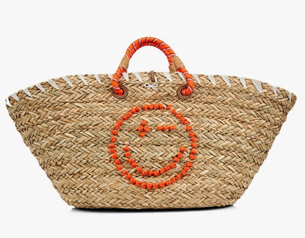 "Anya Hindmarch<p><a target=""_blank"" href=""http://www.matchesfashion.com/intl/products/Anya-Hindmarch-Wink-basket-tote-1045197"">matchesfashion.com</a></p>"
