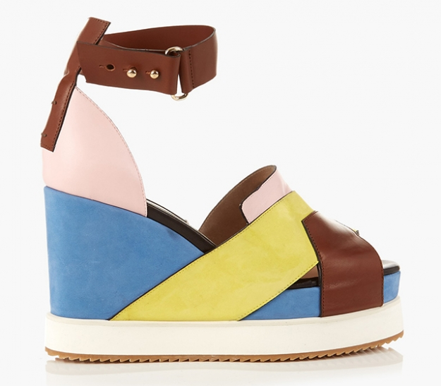 "Chrissie Morris<p><a target=""_blank"" href=""http://www.matchesfashion.com/intl/products/Chrissie-Morris-Isla-leather-and-suede-wedge-sandals-1048184"">matchesfashion.com</a></p>"