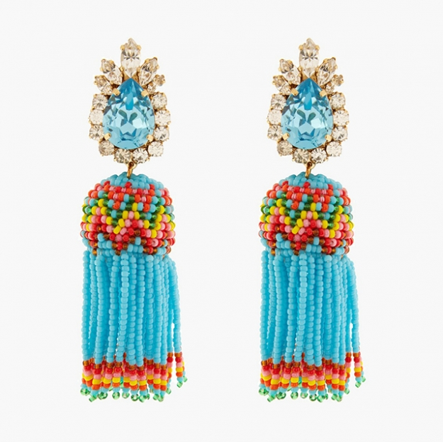 "Shourouk<p><a target=""_blank"" href=""http://www.matchesfashion.com/intl/products/Shourouk-Totem-earrings-1049409"">matchesfashion.com</a></p>"