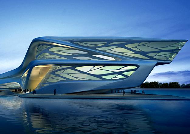Центр Performing Arts в Абу-Даби