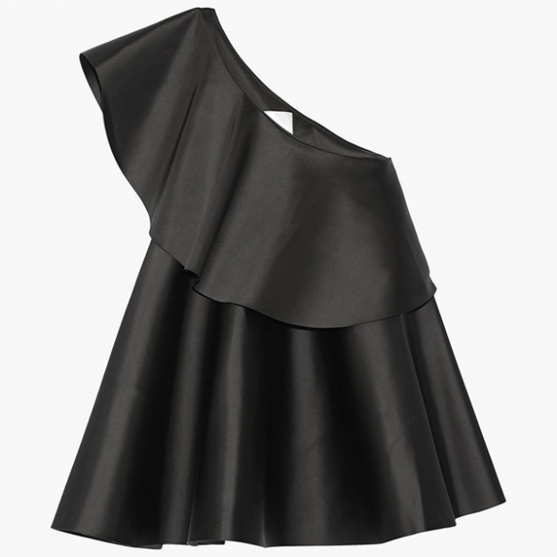 "Solace London<p><a target=""_blank"" href=""https://www.net-a-porter.com/ua/en/product/684122/solace_london/violet-one-shoulder-bonded-satin-top"">net-a-porter.com</a></p>"