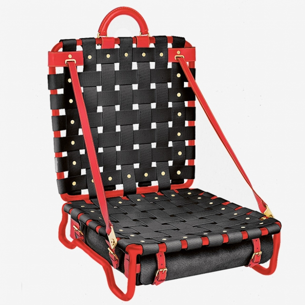 Кресло-чемодан Chair Special Edition, коллекция Objets Nomades, дизайн М. Баас, Louis Vuitton