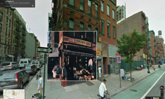 """Paul's Boutique"" Beastie Boys, 1989 год. Угол Лудлоу и Ривингтон, Нижний Ист Сайд, Нью-Йорк"