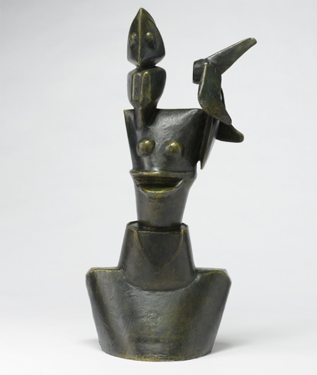 Макс Эрнст. L'imbécile (The Imbecile), 1961