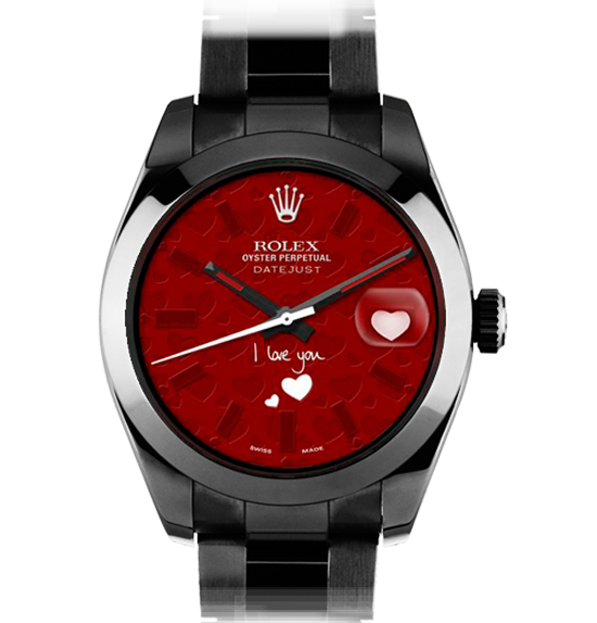 "Часы ""I Love You"", Rolex x Bomford"