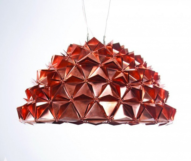 Faceted Tactile Light Series Lights/Lumieres by Avni Sejpal
