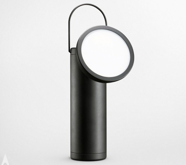 M Lamp Lamp by David Irwin