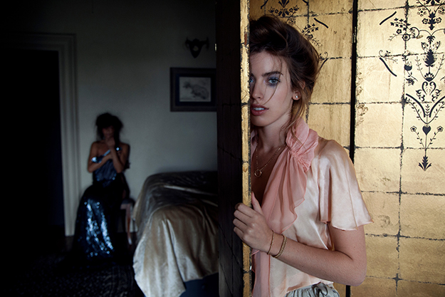 Helena Christensen & Clara McGregor by Helena Christensen and Hector Perez