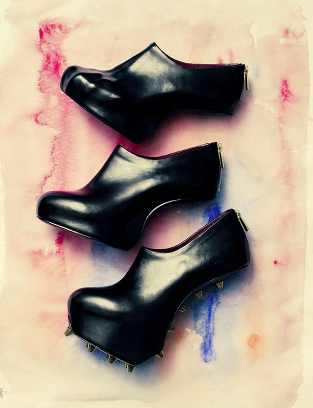 """Heel-less Shoes"", 2010-2014"