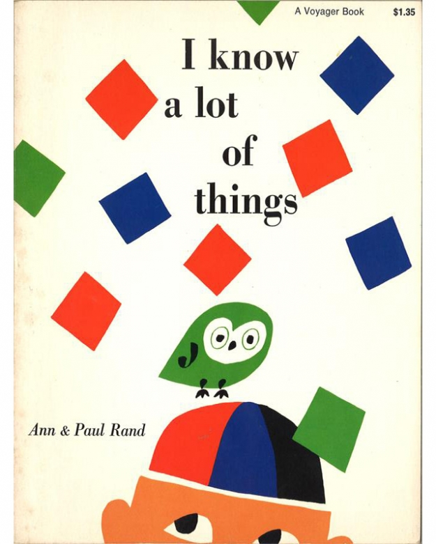 "Пол и Энн Рэнд, книга ""I Know A Lot of Things"", 1956"