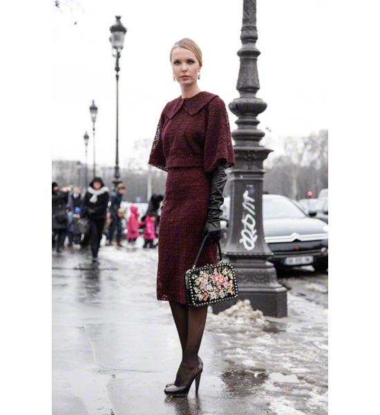 Модная одежда в париже
