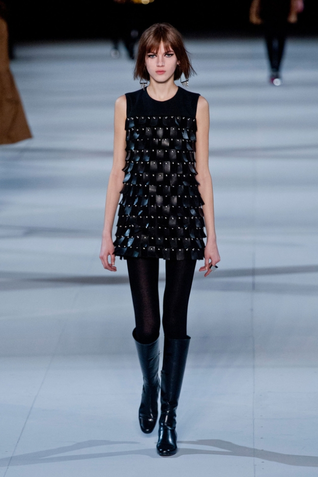 Saint Laurent осень-зима 2014/15