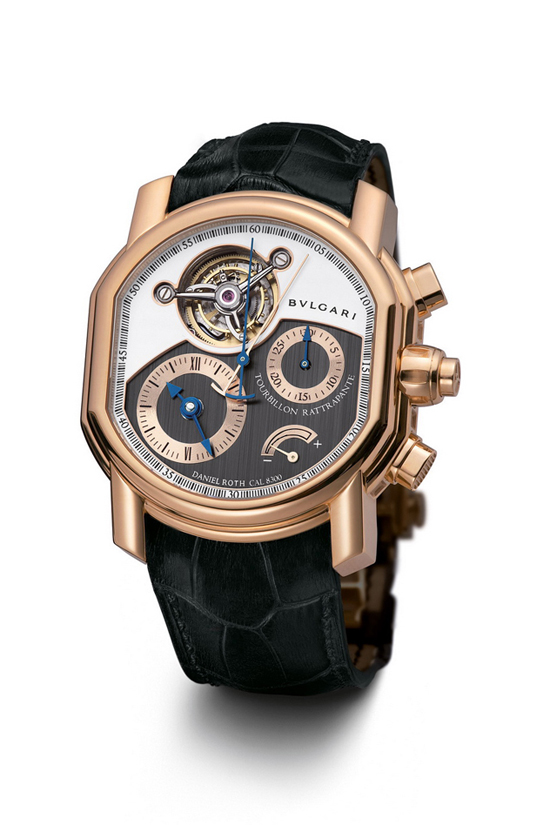 Tourbillon Chrono Rattrapante, Bulgari