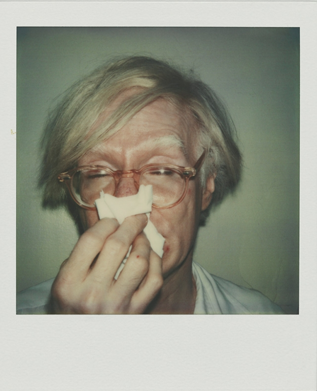 Andy Warhol. ANDY SNEEZING, 1978