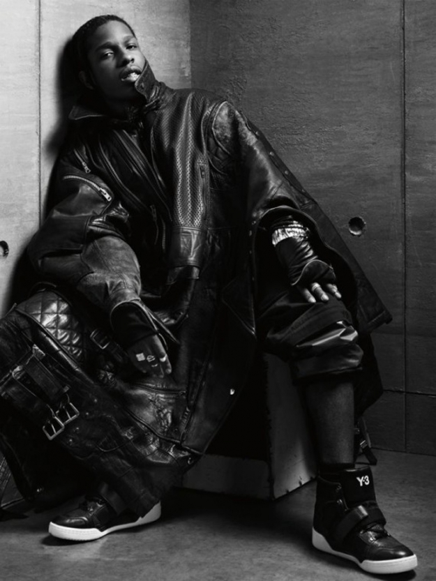 A$AP Rocky by Alexander Wang (Interview magazine march 2013)