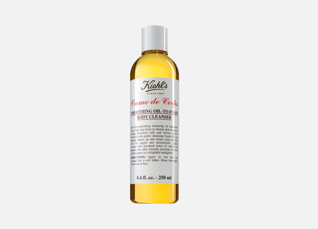 Creme de Corps Smoothing Oil-To-Foam Body Cleanser от от Kiehl's, 900 руб.