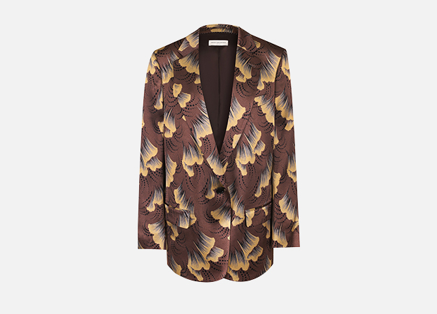 "Пиджак, Dries van Noten<p><a style="""" target=""_blank"" href=""https://www.tsum.ru/catalog/zhakety-2505/_i_g_i_i_-5261618-color-korichnevyy.html"">ЦУМ</a></p>"