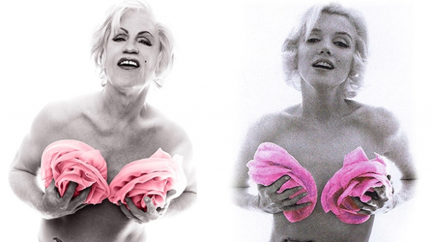 Sandro Miller, Bert Stern / Marilyn in Pink Roses (from The Last Session, 1962), 2014