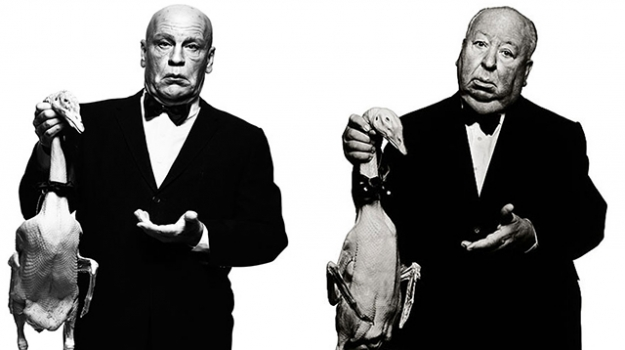Sandro Miller, Albert Watson / Alfred Hitchcock with Goose (1973), 2014
