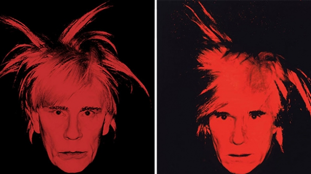 Sandro Miller, Andy Warhol / Self Portrait (Fright Wig) (1986), 2014