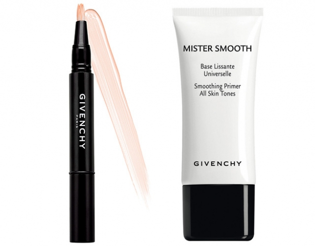 Консилер Givenchy Mr. Light и база под макияж Givenchy Mr. Smooth