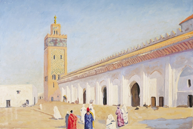Mosque at Marrakech, 1948