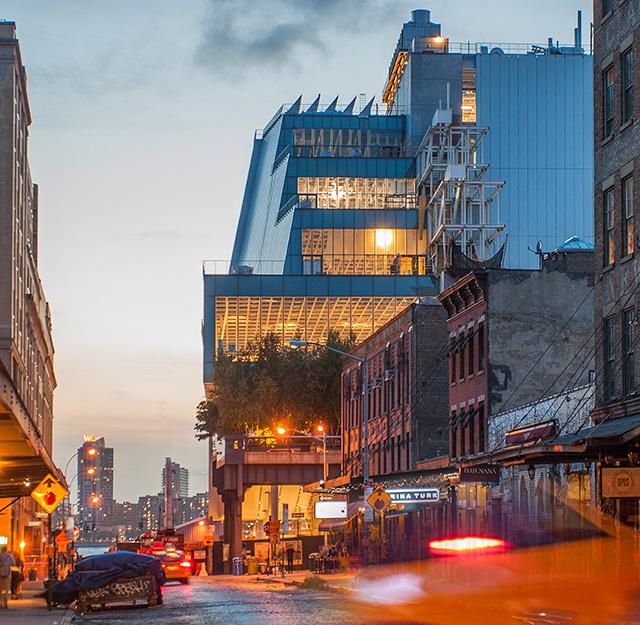 Где живет искусство: новое здание Музея Уитни в Нью-Йорке