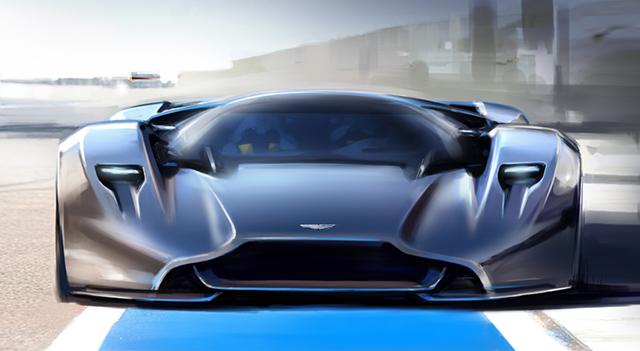 Чудо инженерной мысли: Aston Martin DP-100 Vision Gran Turismo
