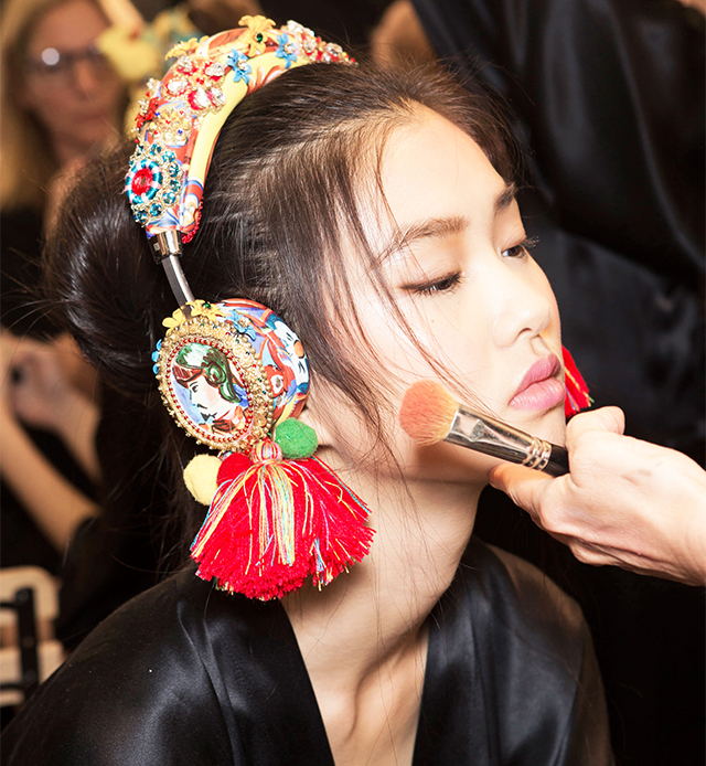 образы с показов Dolce & Gabbana и Marni