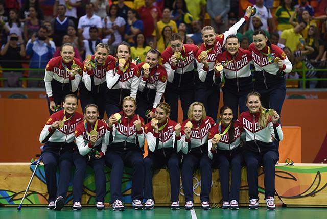 Сборная РФ заняла четвёртое место вобщем зачёте Олимпиады