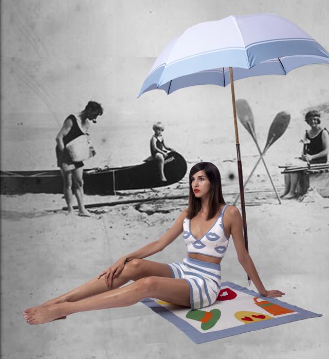 Девушка с веслом: коллекция Tak.Ori, весна-лето 2015