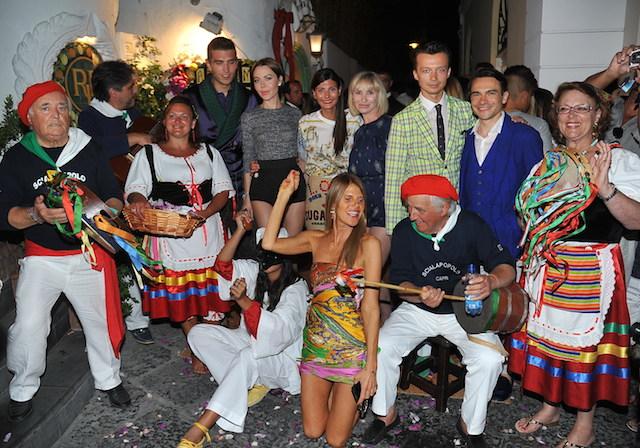 Коктейль Dolce & Gabbana на Капри