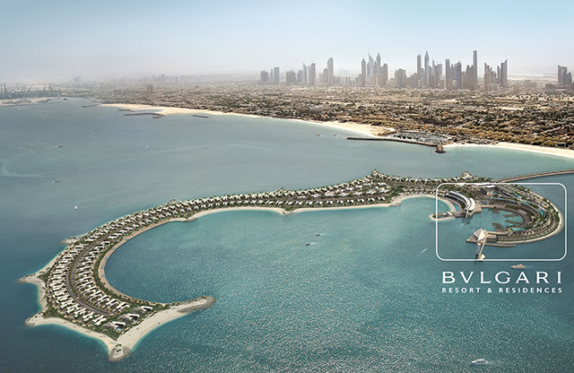Проект резиденции Bvlgari в Дубае