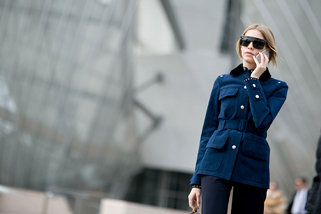 Paris Fashion Week A / I 2015: street style.  Parte 7