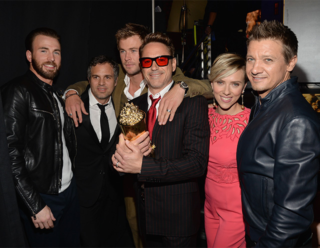 Победители и гости MTV Movie Awards 2015