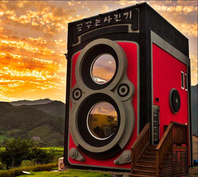 Верится с трудом: кофейня Dreaming Camera в Южной Корее