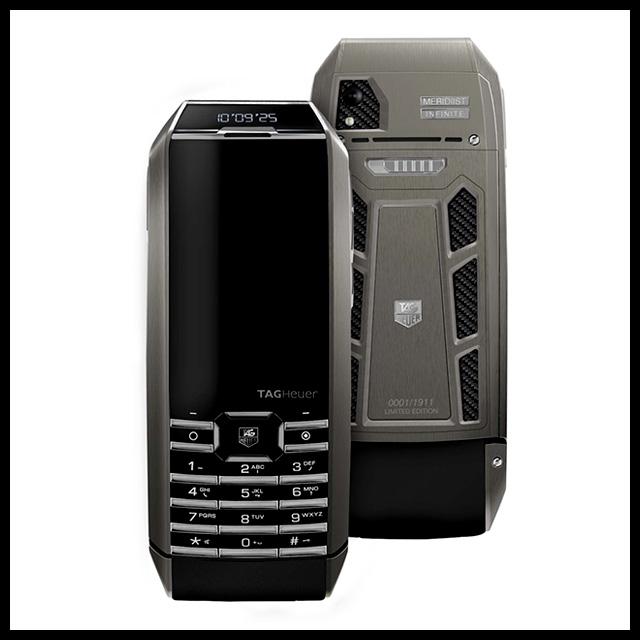 TAG Heuer представили телефон с солнечной батареей