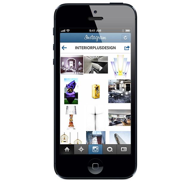 """Журнал """"Интерьер+Дизайн"""" объявил о запуске аккаунта в Instagram"""