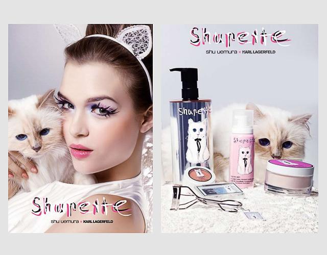 Primo sguardo: collezione make-up da gatto Lagerfeld
