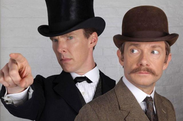 В рождественском выпуске'Шерлока появятся привидения