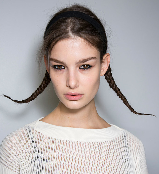 Тенденция: сложносочиненные косы